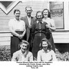 Thomas Edward Patton (rear) with his daughters <br /> (standing) left, Freida, Geogia, Jane, Mary<br /> (sitting) Virginia, Jane<br /> Tulsa, OK