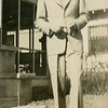 "Thomas Warren ""Bud"" Patton at home<br /> of his parents Thomas Edward and Florence<br /> Etta (Montgomery) Patton, Tulsa, OK"