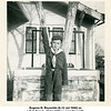 Eugene N. Reynolds (b.12 Jul 1940) as<br /> a Cub Scout.  At his Willsey grandparent's<br /> home, Tulsa, OK  Sep 1949