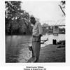Ernest Leroy Willsey<br /> Fishing at Grand River, OK<br /> Nov 1953