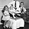 Reynolds siblings.  From left,<br /> Kathryn Louise (1y, 11m), Sue Ellen (5m),<br /> Eugene Nowery II (7y, 11m), Jerry LeRoy (3y, 7m)<br /> Tulsa, OK Father's Day, May 1948