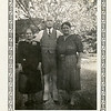 """Reuben H. Reynolds, center, with Mrs. Decker and Mrs.<br /> Cambell (""""Aunt Min"""").  Aunt Min was the landlady<br /> of some of Reuben's sons in Tulsa, OK."""
