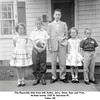 The Reynolds kids from left, Kathy, Jerry, Gene, Sue, and Tom .<br /> At their home, 2307 N. Garrison Pl.<br /> Tulsa, OK