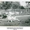 Sue Ellen Reynolds and her brother Eugene N, II.<br /> At their Willsey grandparent's home on Elwood.<br /> Tulsa, OK