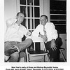 "New Year's party at Drew and Bishop Reynolds' home.<br /> From left, Jerry Arnold ""Jiggs"" Reynolds, b.11/21/1916, d.3/12/2002,<br /> and a friend Walt Everett.<br /> Tulsa, OK  New Years eve, 1954"
