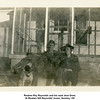 Reuben Ray Reynolds and his aunt Jean Drew.<br /> At Reuben Hill Reynolds' home, Hominy, OK