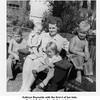 Kathryn Reynolds with the first 4 of her kids.<br /> From left, Gene, Sue, Kathy, and Jerry.<br /> At her parent's home, Tulsa, OK, 1948