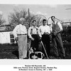Reuben Hill Reynolds, left.<br /> With sons Thomas Drew, Eugene Nowery, Reuben Ray.<br /> At Reuben's house in Hominy, OK  c. 1945