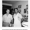 From left, Eugene N. Reynolds with his friend and grocer, Ben Peavey.<br /> In Ben's store, Tulsa, OK
