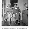 "L.M. ""Brad"" Bradley and his wife, Jerri.  Brad was an employee of the<br /> Reynolds Bros. company.  Attending birthday party for Eugene N. Reynolds<br /> at the home of Eugene's brother, Drew.  Tulsa, OK  2/20/1954"