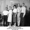 Eugene & Kathryn Reynolds family.<br /> From left, Tom (10y, 9m), Sue (12y, 5m),<br /> Kathy (13y, 11m), Jerry (15y, 7m), Gene (19y, 11m)<br /> Tulsa, OK May 1960