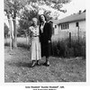"Ione Waddell ""Auntie Waddell"", left,<br /> and Armorlee Willsey.<br /> At the home of Ernest and Bess Willsey, Tulsa, OK, 1948"