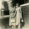 Ruth (Haberman) McDonald with daughter Cherry at<br /> oldest daughter Shirley McDonald's home on N.Phoenix<br /> Tulsa, OK