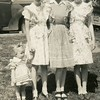 Shirley Aliene (McDonald) Patton, with her sisters,<br /> Dona Nell, left, and Cherry Natalie, with Shirley's<br /> daughter, Paula Kathleen, on left.<br /> Bremerton, WA