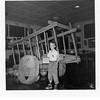 Jerry L. Reynolds at Woolaroc museum.<br /> Bartlesville, OK  5 Aug 1952
