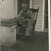 Karl Joseph Haberman (1880 - ?) at his home,<br /> Sand Springs, OK 1942