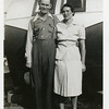 "Ralph Vernon ""Bud"" Roberts (1898-1976) and his<br /> wife Cleone (Batty) (1903-1996).<br /> Bud is Bess (Roberts) Willsey's brother.  1942"