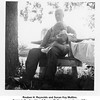 """Reuben H. Reynolds and Susan Kay Mullins.<br /> Susan is the daughter of George Mullins, an employee of the<br /> Reynolds Bros. company.  At the """"farm"""" 17 May 1953"""