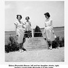 Eldora (Reynolds) Beaver, left and her daughter Jennie, right.<br /> Jennie's cousin Kathy Reynolds is in the center.<br /> Tulsa, OK Jun 18, 1950