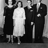 Shirley (McDonald) Patton and her family, husband<br /> Thomas Warren, and children Paula Kathleen and<br /> Jeffrey Warren at the wedding of Shirley's sister Cherry<br /> Natalie McDonald to Walter Frederick Kempe<br /> Tulsa, OK 1959