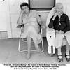 """From left, """"Grandma Bishop"""", the mother of Hazel (Bishop) """"Bishop"""" Reynolds,<br /> and Jean (Reynolds) Drew, the sister of Reuben Hill Reynolds.<br /> At Drew and Bishop Reynolds' house.  Tulsa, OK  1956"""