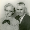 Thomas Edward and Florence Etta <br /> (Montgomery) Patton  Tulsa, OK 1955