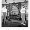 Gene Reynolds on right and friend Tommy West.<br /> Woolaroc Museum, OK, Aug 5, 1952