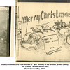 """VMail Christmas card from William G. """"Bill"""" Willsey to his brother, Ernest LeRoy.<br /> """"Ah! Coffee!"""" written on the back.<br /> From Corsica May, 1944."""