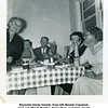 "Reynolds family friends, from left, Beulah Copeland,<br /> Jerri and ""Brad"" Bradley, Nancy Fare, and Inzie Jewett.<br /> Tulsa, OK  2/20/1954"