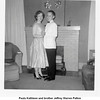 Paula Kathleen and brother Jeffrey Warren Patton<br /> practicing at home on N. Phoenix, Tulsa, OK<br /> c. 1957