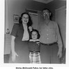 Shirley (McDonald) Patton, her father John,<br /> and her daughter Paula Kathleen.<br /> At her home, Tulsa, OK