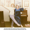 From left, Sue (Reynolds) Johnston and Donna (Todd) Reynolds.<br /> At the home of Gene and Paula Reynolds, Oklahoma City, OK  1974