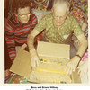 Bess and Ernest Willsey.<br /> At their daughter Kathryn's home.<br /> Tulsa, OK, Christmas 1971