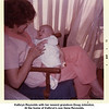 Kathryn Reynolds with her newest grandson Doug Johnston.<br /> At the home of Kathryn's son Gene Reynolds.<br /> Oklahoma City, OK  1/17/1972
