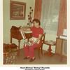 """Hazel (Bishop) """"Bishop"""" Reynolds<br /> Christmas at her home.<br /> Tulsa, OK  1971"""