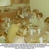 From bottom clockwise, Donna (Todd) Reynolds, Gene Reynolds, his daughter Laura,<br /> his grandparents Bess and Ernest Willsey, Kathy (Reynolds) Howard, Tony and Sue (Reynolds) Johnston,<br /> Paula (Patton) Reynolds, Jerry Reynolds, Martin Howard, and Tom Reynolds.<br /> Tulsa, OK  Christmas breakfast, 1970