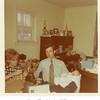 Sue and Tony Johnston with Doug.<br /> Tulsa, OK, Christmas 1971