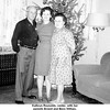Kathryn Reynolds, center, with her<br /> parents Ernest and Bess Willsey.<br /> At Kathryn's home, Tulsa, OK  Christmas, c. 1965