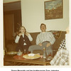 Donna Reynolds and her brother-in-law Tony Johnston.<br /> At the Johnston home, Tulsa, OK  12/31/1971