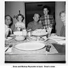 Drew and Bishop Reynolds in back.  Drew's sister<br /> Eldora Beaver on right, Eldora's son-in-law Ken Wood<br /> on left, and Ken's daughter.  Tulsa, OK  1967