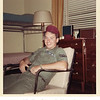 Jeffrey Warren Patton cooling it in barracks<br /> at Goodfellow AFB c. 1964