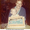 Tom Reynolds with his nephew Doug Johnston.<br /> Tom's 24th birthday.<br /> At his father-in-law's cabin on the lake.  9/12/1973