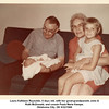 Laura Kathleen Reynolds, 6 days old, with her great-grandparents John &<br /> Ruth McDonald, and cousin Paula Marie Kempe.<br /> Oklahoma City, OK 9/22/1968