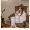 Kathy Howard with her nephew Doug Johnston.<br /> At the home of Kathryn Reynolds.<br /> Tulsa, OK  1972