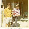 Jeffrey Warren Patton with his friend Doug<br /> Manning and Doug's 7-week old son Doug Jr.<br /> Tulsa, OK 1971