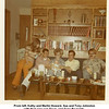 From left, Kathy and Martin Howard, Sue and Tony Johnston<br /> with their new son Doug, and Gene Reynolds.<br /> At Gene and Paula's home, Oklahoma City, OK  1/17/1972