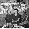 Lucile (Willsey) Burrow and her sister-in-law<br /> Bess (Roberts) Willsey.<br /> At Bess and Ernest's home, Tulsa, OK