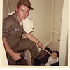 "Jeffrey Warren Patton at Goodfellow AFB<br /> ""Yours truly doing his daily duties"" c. 1964"