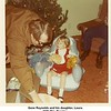Gene Reynolds and his daughter, Laura.<br /> With Mrs. Beasley.<br /> At his mother's home, Tulsa, OK, Christmas 1971