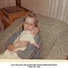 Laura Reynolds with grandmother Shirley (McDonald) Patton<br /> Tulsa, OK  1968
